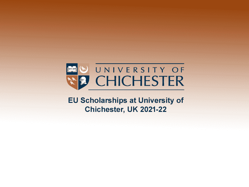 EU Scholarships at University of Chichester, UK 2021-22