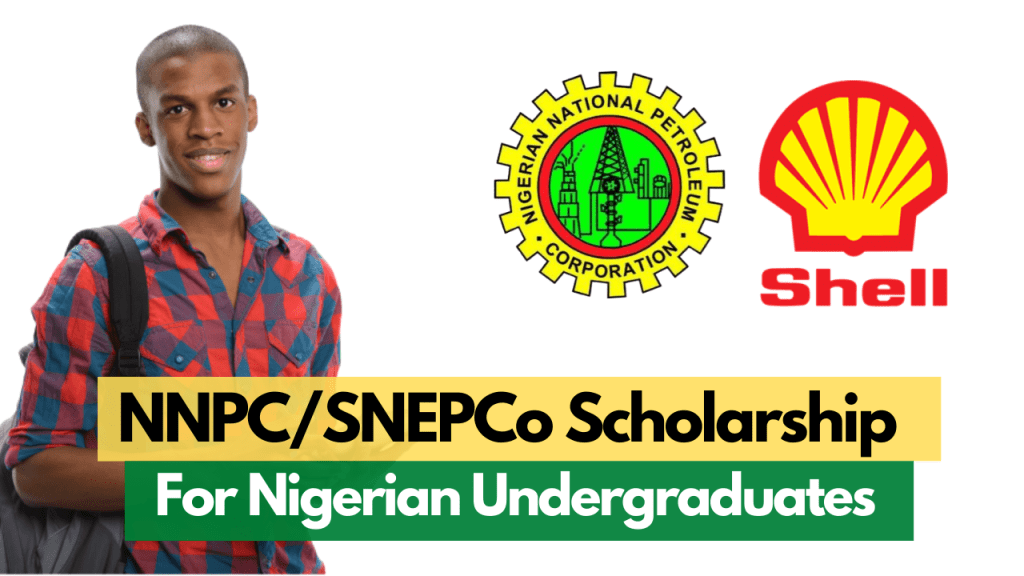 NNPC/SNEPCo National University Scholarship for Nigerians for Bachelor